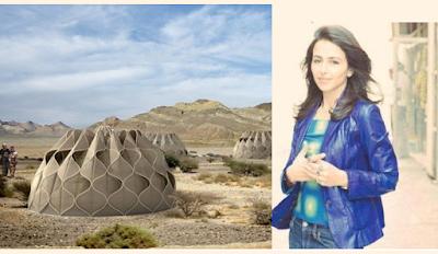 مهندسة أردنية تصمم خيماً للاجئين تجمع الأمطار وتخزّن الطاقة الشمسية