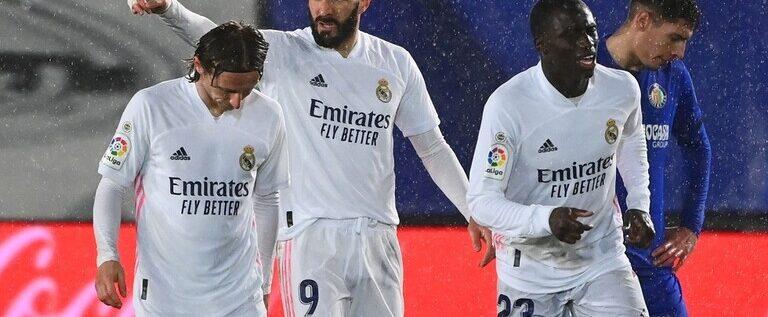 ثنائية فرنسية تقود ريال مدريد لتجاوز عقبة خيتافي
