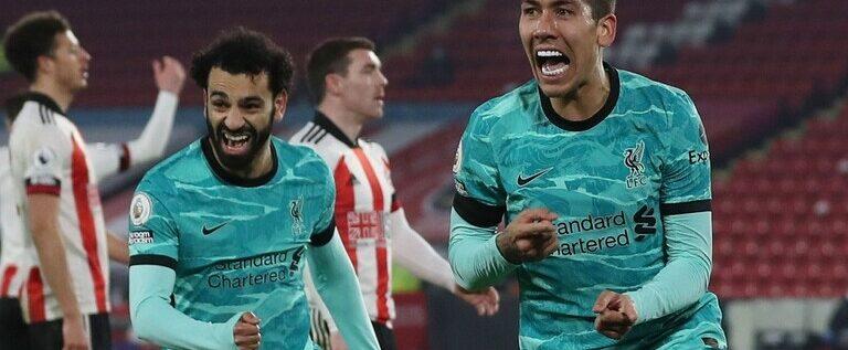 ليفربول يستعيد نغمة الانتصارات بثنائية في شباك شيفيلد يونايتد