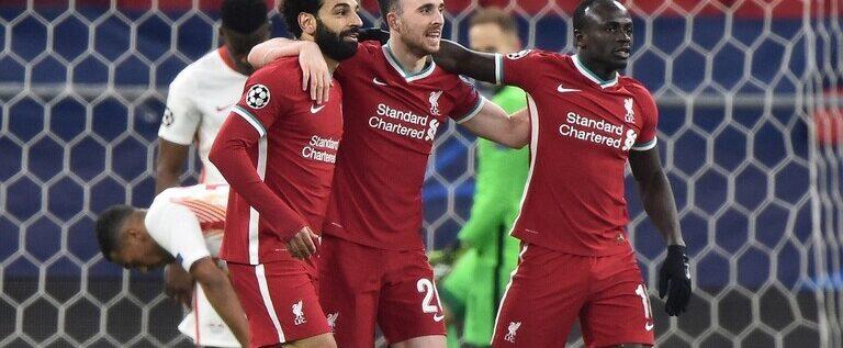 ليفربول يجدد فوزه على لايبزيغ ويتأهل لربع نهائي أبطال أوروبا