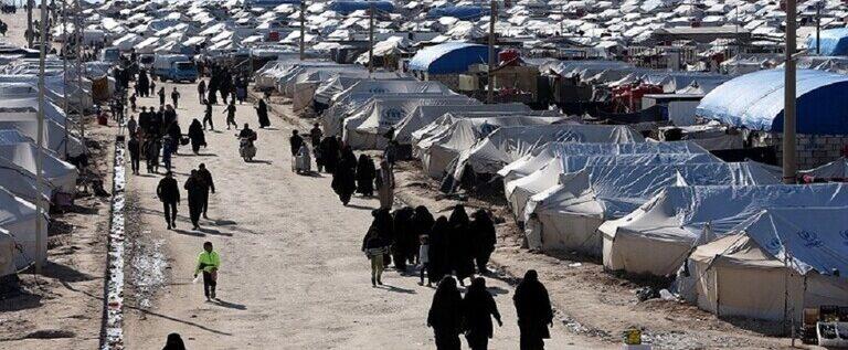 """""""قسد"""" تمهد لعملية أمنية واسعة في مخيم الهول شمال شرق سوريا"""