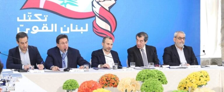 لبنان القوي رحب بانفتاح جنبلاط: كلام الحريري مرفوض شكلا ومضمونا
