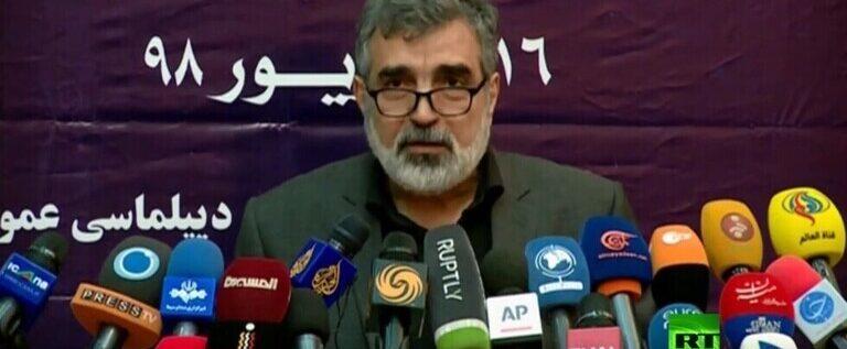 إصابة المتحدث باسم الطاقة الذرية الإيرانية أثناء تفقد محطة نطنز النووية