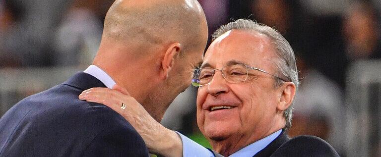 """بيريز: ريال مدريد """"لن يُطرد"""" من دوري الأبطال"""