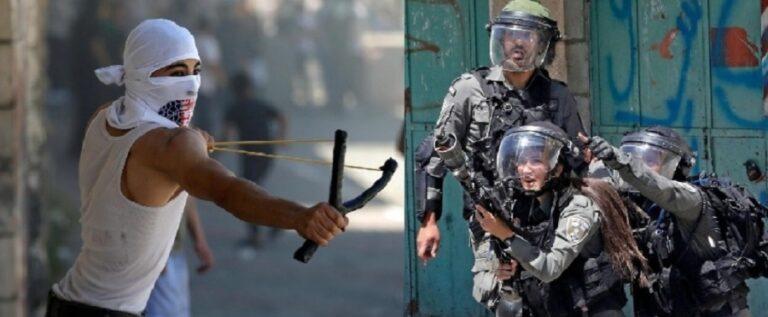 الهلال الاحمر الفلسطيني: 29 إصابة بمواجهات تعم مدن الضفة الغربية