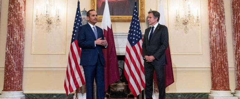 وزير الخارجية القطري: ندفع نحو تشكيل حكومة في لبنان بأسرع وقت